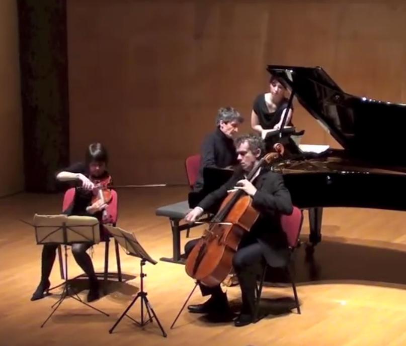Vidéo Trio Hoboken Salle Cortot