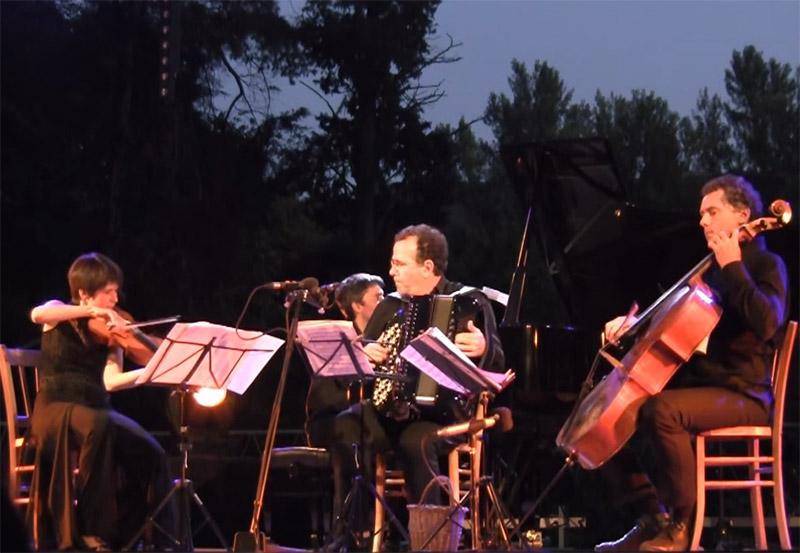 Vidéo Concert Richard Galliano Trio Hoboken