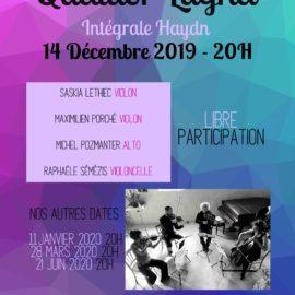 14 décembre | 20h | Temple de Montrouge